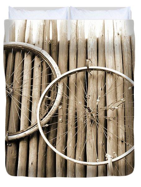 Wheels On Bamboo Duvet Cover