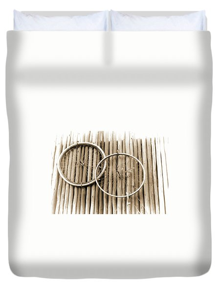 Wheels On Bamboo Duvet Cover