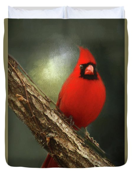 Duvet Cover featuring the photograph When Angels Are Near by Darren Fisher