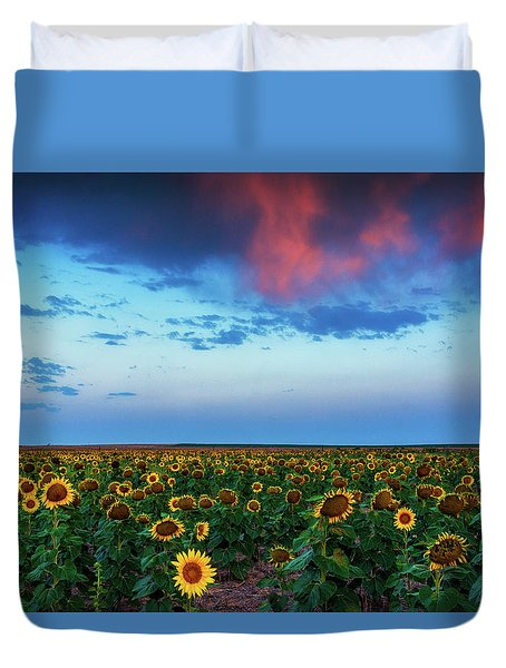 When Clouds Dance Duvet Cover
