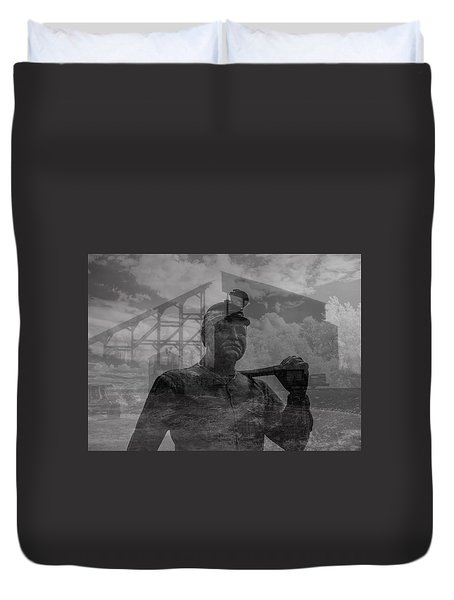 When Coal Was King II Duvet Cover
