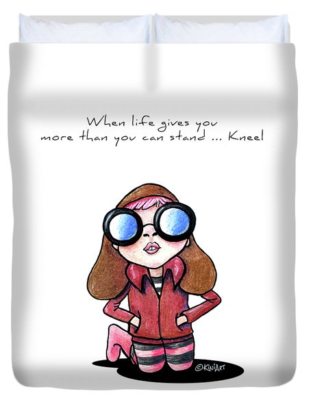 When Life Gives You Duvet Cover by Kim Niles
