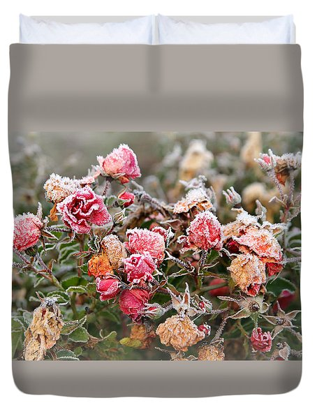 When Love Grows Cold Duvet Cover