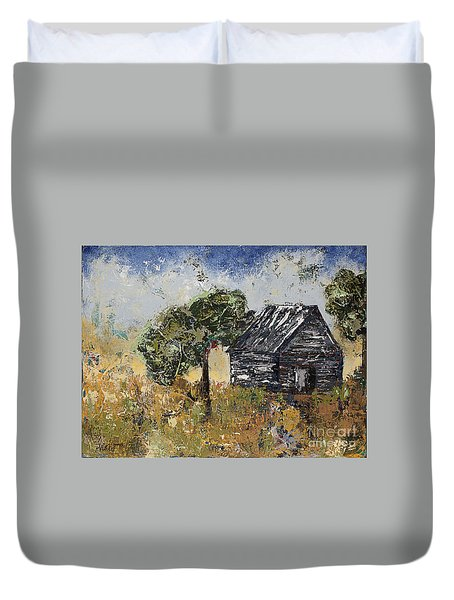 When September Ends Duvet Cover by Kirsten Reed