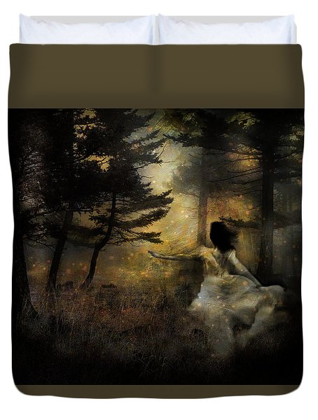When The Forest Calls Duvet Cover