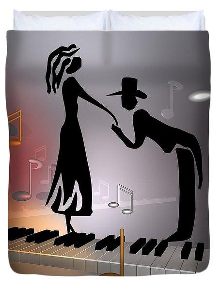 When The Music ... Duvet Cover
