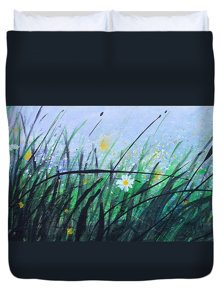 When The Rain Is Gone Duvet Cover