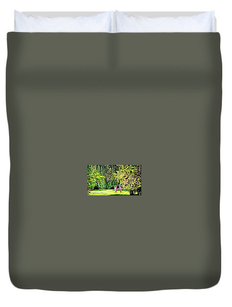 When We Were Young II Duvet Cover