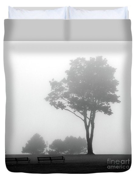 Duvet Cover featuring the photograph Where Do I Go When It's Gone by Dana DiPasquale