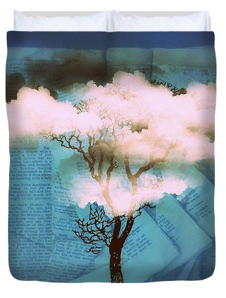 Where Dreams Are Born Duvet Cover by Paulo Zerbato