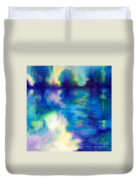 Where Dreams Reside Duvet Cover by Alison Caltrider