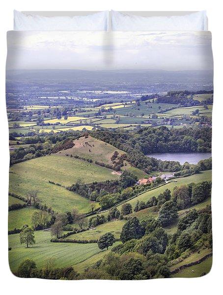 Where Fields Never End Duvet Cover