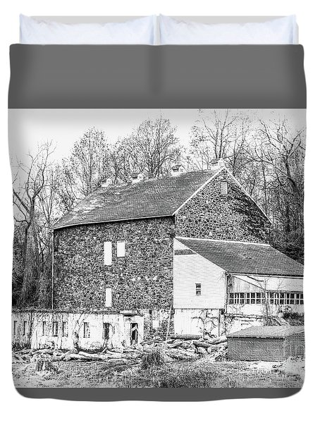 Where Have All The Farmers Gone Duvet Cover by Judy Wolinsky