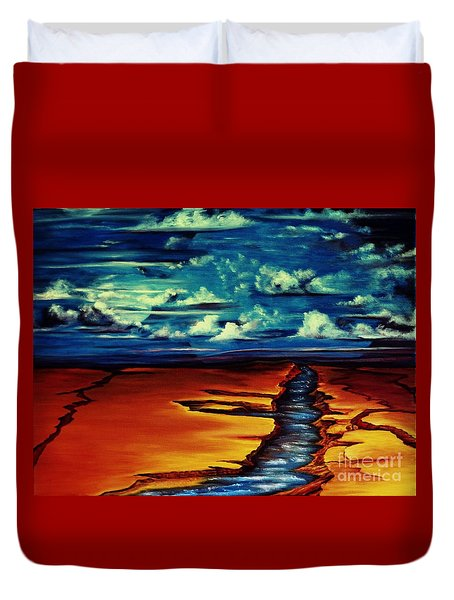 Where In The Worlds Duvet Cover