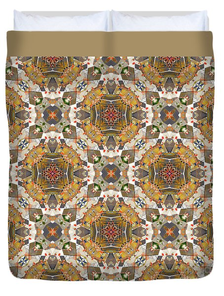 Duvet Cover featuring the digital art Where In The World by Wendy Wilton