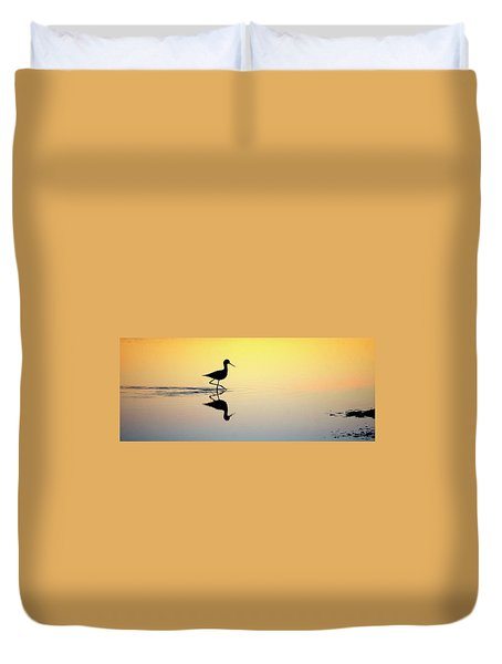 Duvet Cover featuring the photograph Where Is Dinner? by Quality HDR Photography