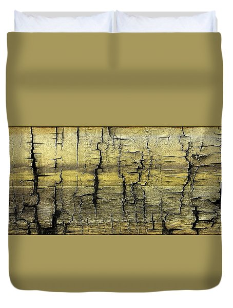 Where Is The Boat Duvet Cover by Sherman Perry