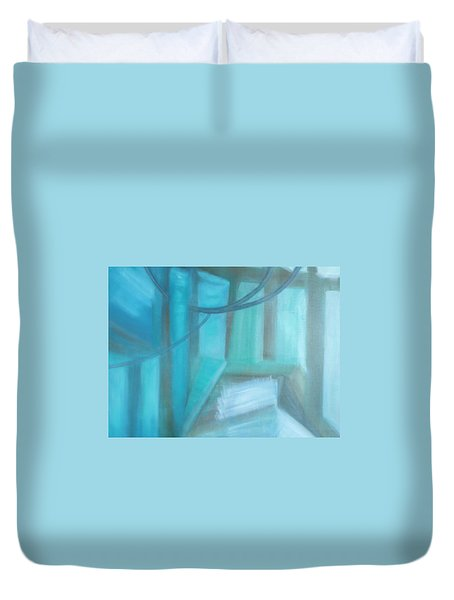 Where Is The Road? Duvet Cover