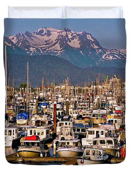 Where The Land Ends ... Duvet Cover by Juergen Weiss