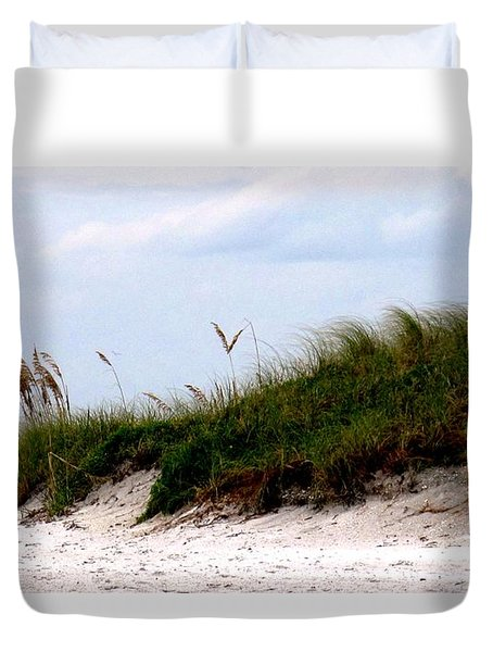 Where The Sea Wind Blows Duvet Cover by Ian  MacDonald
