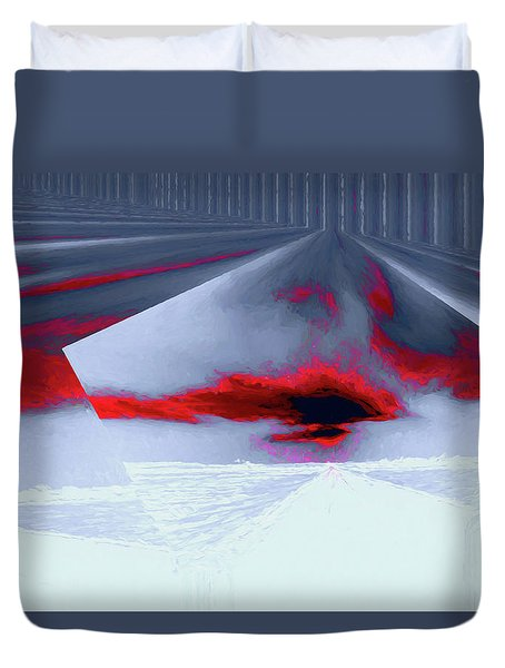 Where The Sky Bends Duvet Cover
