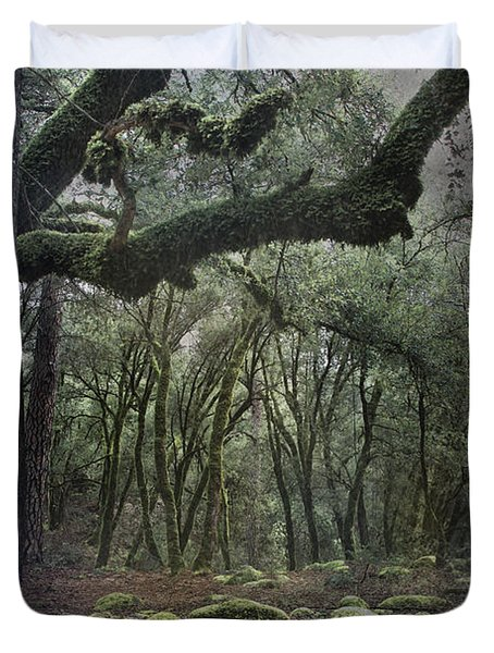 Where The Wild Hearts Roam Duvet Cover by Laurie Search