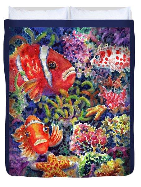 Where's Nemo Duvet Cover