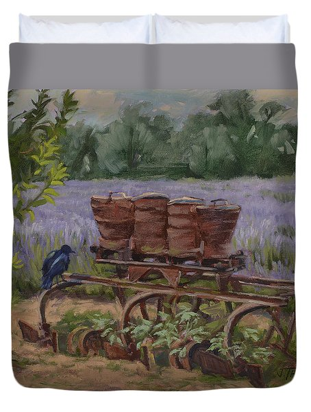 Where's The Seed? Duvet Cover