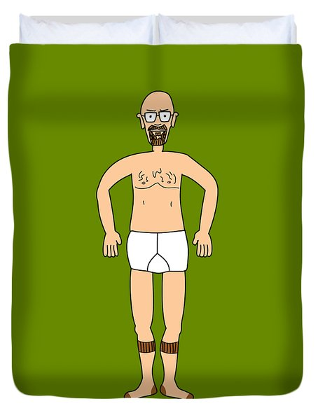 Wheres Walter Fugue State Breaking Bad Heisenberg Duvet Cover
