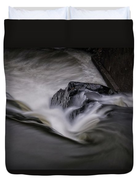 Whetstone Canyon Duvet Cover by Tom Singleton