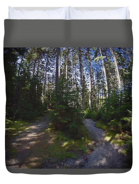 Which Path? Duvet Cover