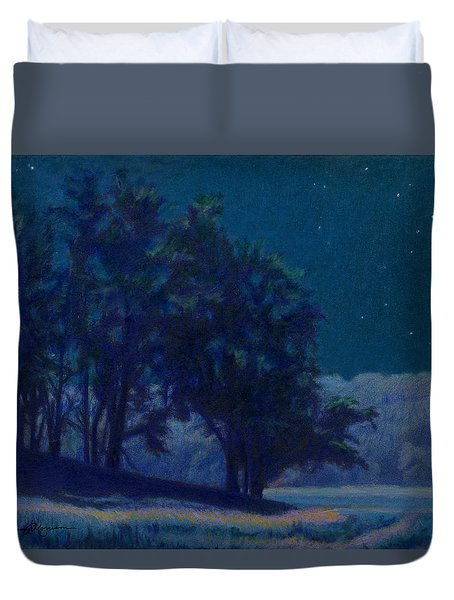 Whip-poor-will Nights Duvet Cover