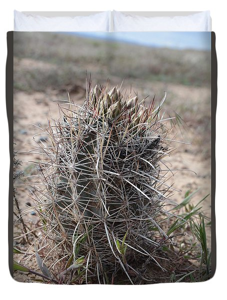 Whipple's Fishook Cactus Duvet Cover