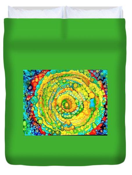 Whirling Duvet Cover