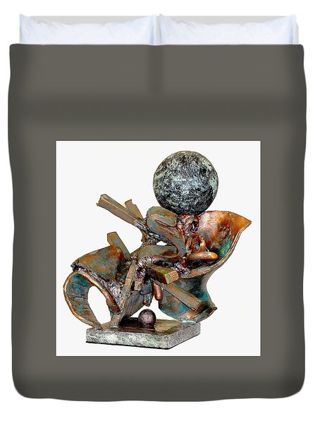 Whirlwind Duvet Cover by Al Goldfarb