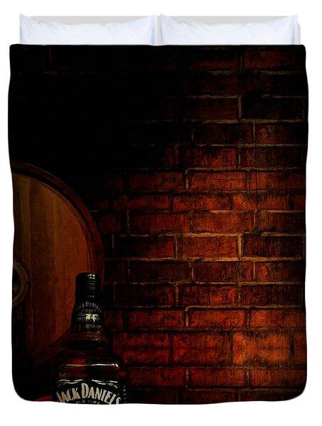 Whiskey Fancy Duvet Cover by Lourry Legarde