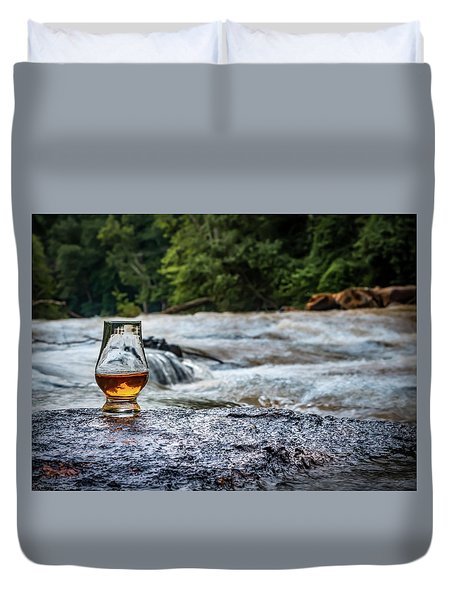 Whisky River Duvet Cover