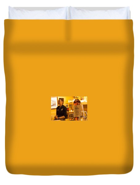 Whisky Tasting Duvet Cover