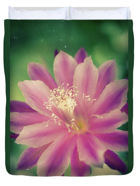 Duvet Cover featuring the photograph Whisper Of Color by Ana V Ramirez