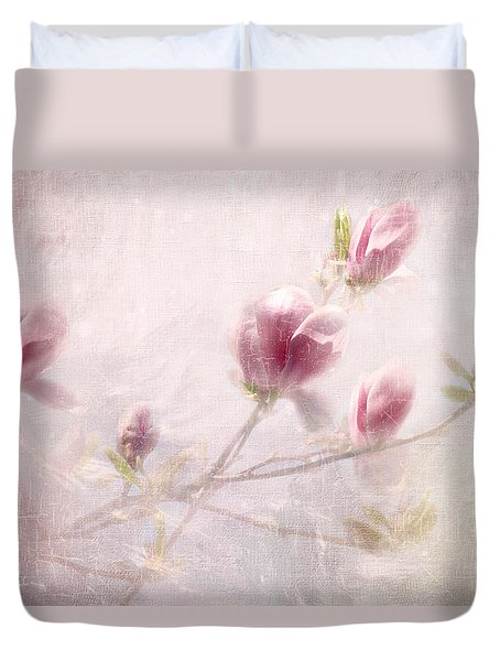 Whisper Of Spring Duvet Cover by Annie Snel