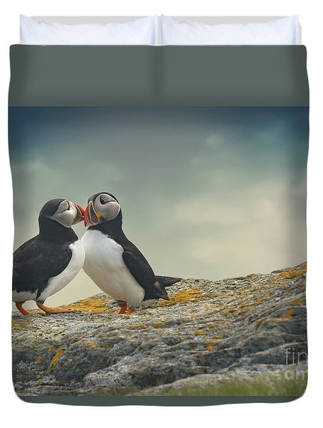 Whispered Secrets Duvet Cover