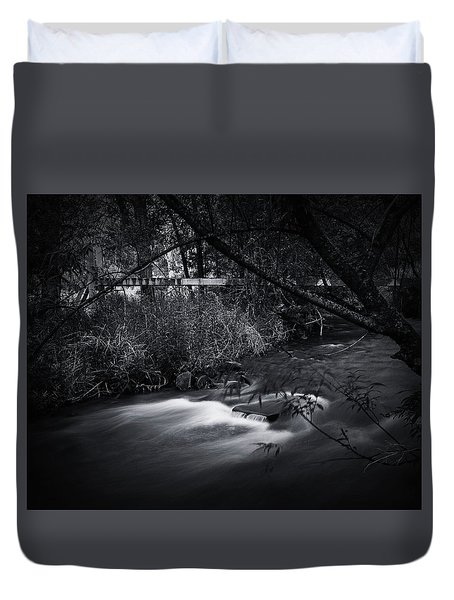 Whispering Brooke Duvet Cover by Tim Nichols
