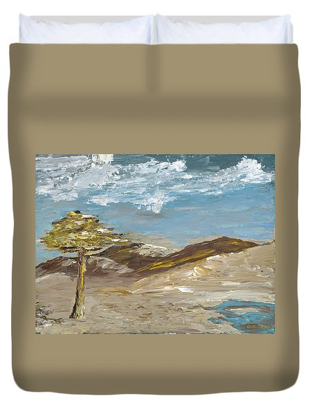Whispering Dunes Duvet Cover