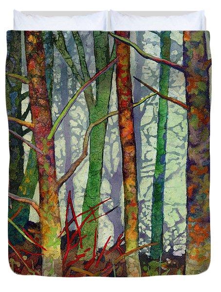Whispering Forest Duvet Cover