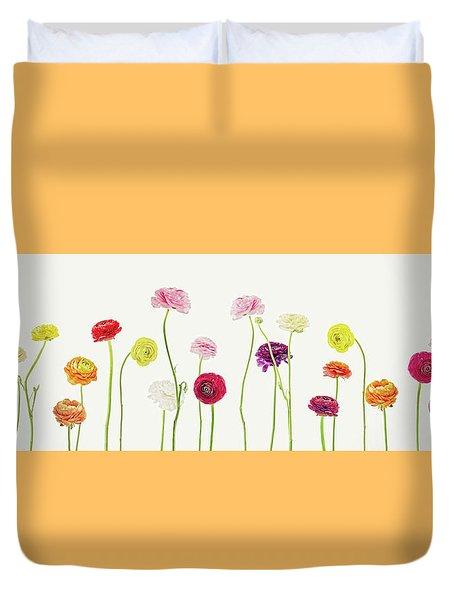 Whispering Spring Duvet Cover