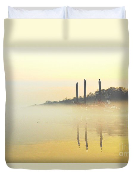 Whispers In The Wind - Contemporary Art Duvet Cover