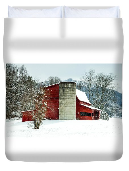 Whispers Of Winter Wonder Duvet Cover