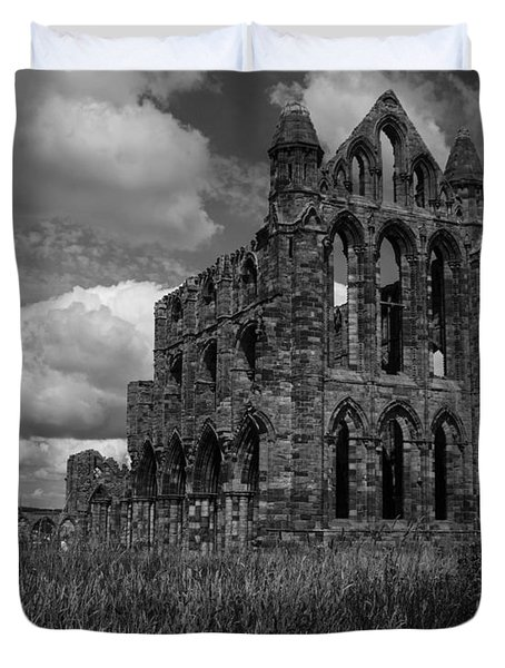 Whitby Abbey, North York Moors Duvet Cover