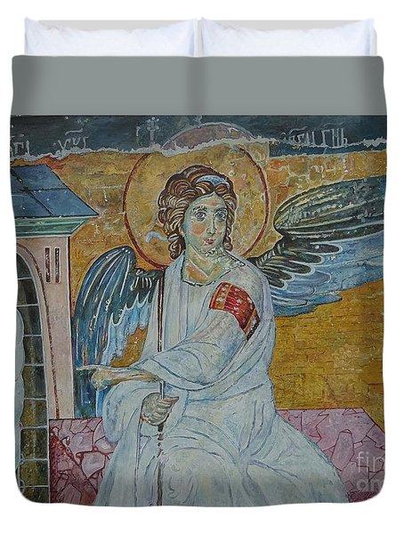 White Angel Duvet Cover