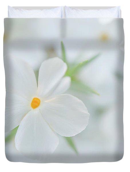 White Beauty Duvet Cover